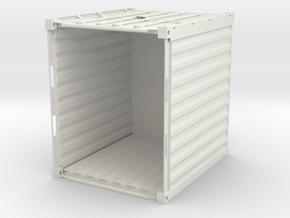 Container 10FT (1pcs) in White Natural Versatile Plastic: 1:75