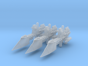 Sword Frigates (3) in Smooth Fine Detail Plastic