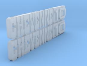 RCN075 Emblems for Vaterra K10 in Smooth Fine Detail Plastic