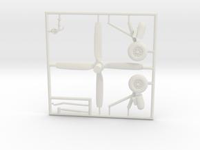 AD5W-144scale-tarmac-6-whiteparts in White Natural Versatile Plastic