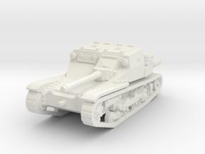 cv 33 (20mm gun) scale 1/100 in White Natural Versatile Plastic
