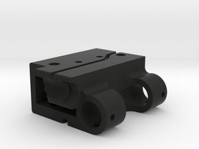 GoPro Audio Adapter Case Style #1 in Black Premium Versatile Plastic