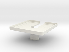 Mic Bracket 3.0 in White Premium Versatile Plastic