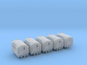 SiL-131 KShM Kofferaufbau 5erSet 1:120 TT in Smooth Fine Detail Plastic