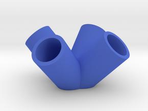 4-Corner Pencil Connector in Blue Processed Versatile Plastic