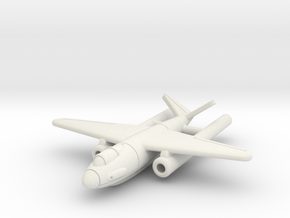 (1:144) Hutter Low-level & Ground Attack Project  in White Natural Versatile Plastic