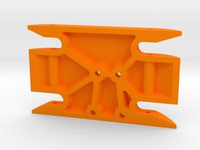 Sucker Punch Skid mirror (PSD) in Orange Processed Versatile Plastic