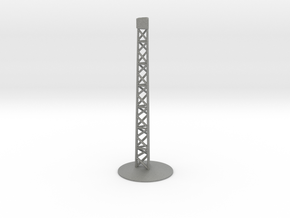 Airplane Display Stand in Gray PA12: 1:144
