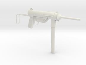 1/4th Scale M3 Grease Gun in White Natural Versatile Plastic