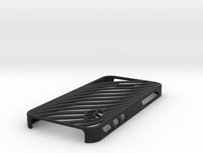 wavy case in Black Premium Versatile Plastic