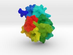 Endolysin in Natural Full Color Sandstone