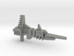Gyro-Blaster Rifle for Titans Return Blitzwing in Gray Professional Plastic