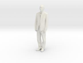 Printle F Mustafa Kemal Ataturk - 1/24 - wob in White Natural Versatile Plastic