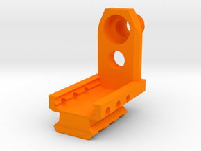 SP2022 Frame-Mounted Muzzle Adapter in Orange Processed Versatile Plastic