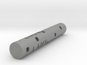 Adapter: Lamy M22 to D1 Mini (58mm Cut) in Gray Professional Plastic