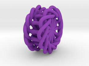 pendant in Purple Processed Versatile Plastic
