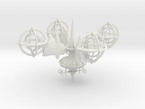 Last Exile. Guild Presence Ship in White Natural Versatile Plastic