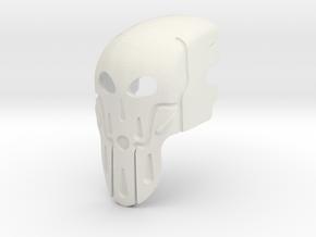 Mask Of Conjuring in White Premium Versatile Plastic