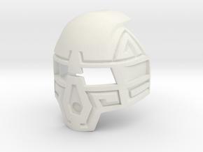 Kanohi Komau Prototype in White Premium Versatile Plastic
