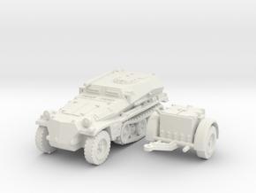 sdkfz 253 scale 1/100 in White Natural Versatile Plastic