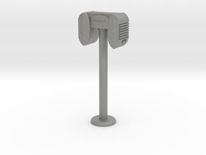 Drive-In Speaker & Stand  - 1:7.5 (with base) in Gray PA12
