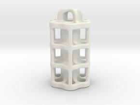 Tritium Lantern 5B (3x22.5mm Vials) in White Premium Versatile Plastic