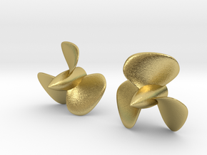 1/192 HMS Hood Brass Propellers x2 (Port&Star) in Natural Brass