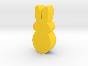 Peep in Yellow Processed Versatile Plastic