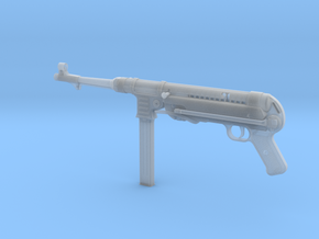 MP40 1/4th Scale      DDのMP40 in Smooth Fine Detail Plastic