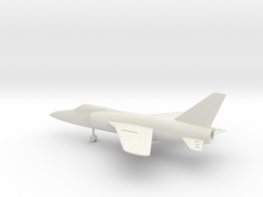 Grumman F-11F-1 Tiger in White Natural Versatile Plastic: 1:160 - N