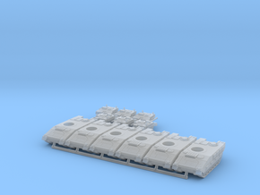 ASCOD 6x in Smooth Fine Detail Plastic: 6mm