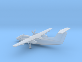 Bombardier Dash 8 Q200 in Smooth Fine Detail Plastic: 6mm