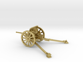 1/48 IJA Type 94 37mm Anti-tank Gun in Natural Brass