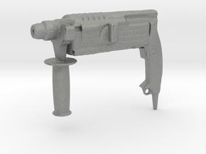Power Drill - 1/10 in Gray Professional Plastic