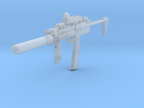 1/10th MP7 tactical 2 HDA in Smooth Fine Detail Plastic