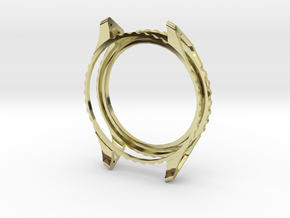 Carrure montre in 18K Yellow Gold