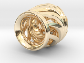 tzb tachyon  in 14k Gold Plated Brass