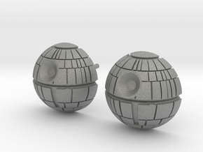 Death Star Studs in Gray Professional Plastic