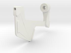 Ruder für Kutter K II K in 1:40 in White Natural Versatile Plastic
