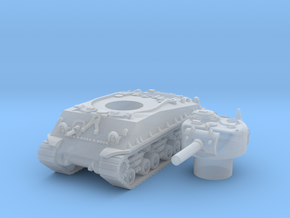 M4A3 105mm scale 1/144 in Smooth Fine Detail Plastic