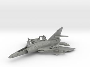 021A Super-Etendard 1/144 with Exocet and Tanks in Gray Professional Plastic