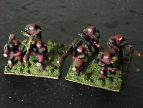 MG144-SYV01 Strayvian Infantry Squad in White Strong & Flexible