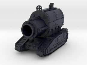 6mm OvercompensationHammer Superheavy Tank in Black Professional Plastic