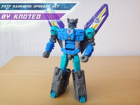 PotP Darkwing Upgrade Set_Budget version in White Processed Versatile Plastic