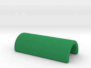 Bitmoji Coin in Green Processed Versatile Plastic