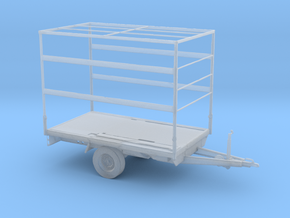 O Scale Closed Trailer in Smooth Fine Detail Plastic