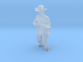 S Scale Shotgun Pete in Smooth Fine Detail Plastic