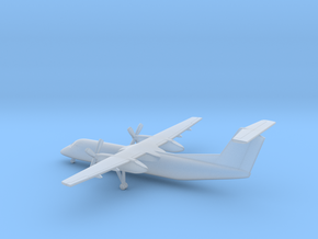 Bombardier Dash 8 Q300 in Smooth Fine Detail Plastic: 6mm