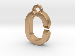 SMALL RING (Carabiner & Quick-Release Key System) in Natural Bronze