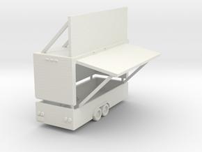empty game trailer in White Natural Versatile Plastic